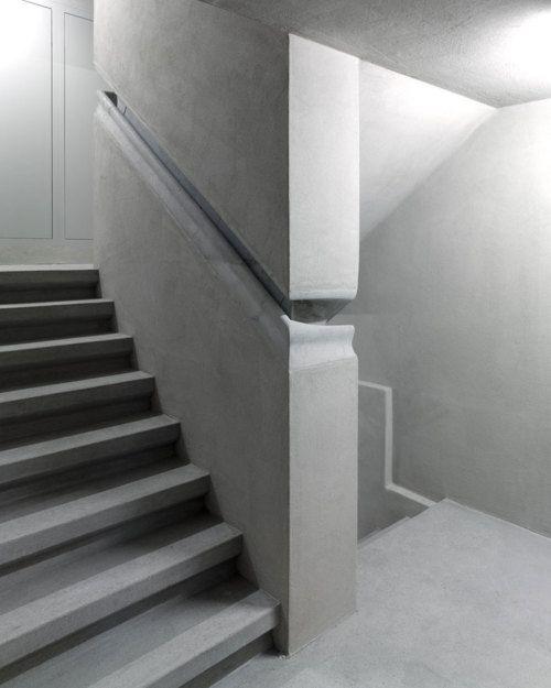 Best Integrated Concrete Handrail Detail In Christ Gantenbein 640 x 480