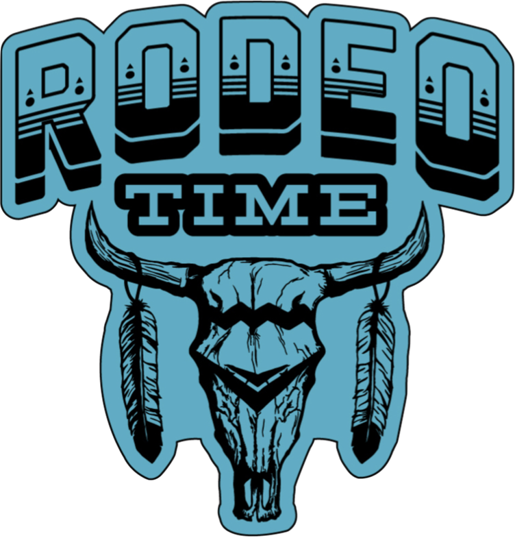 Rodeo Time Decal Rodeo Time Rodeo Quotes Rodeo Life