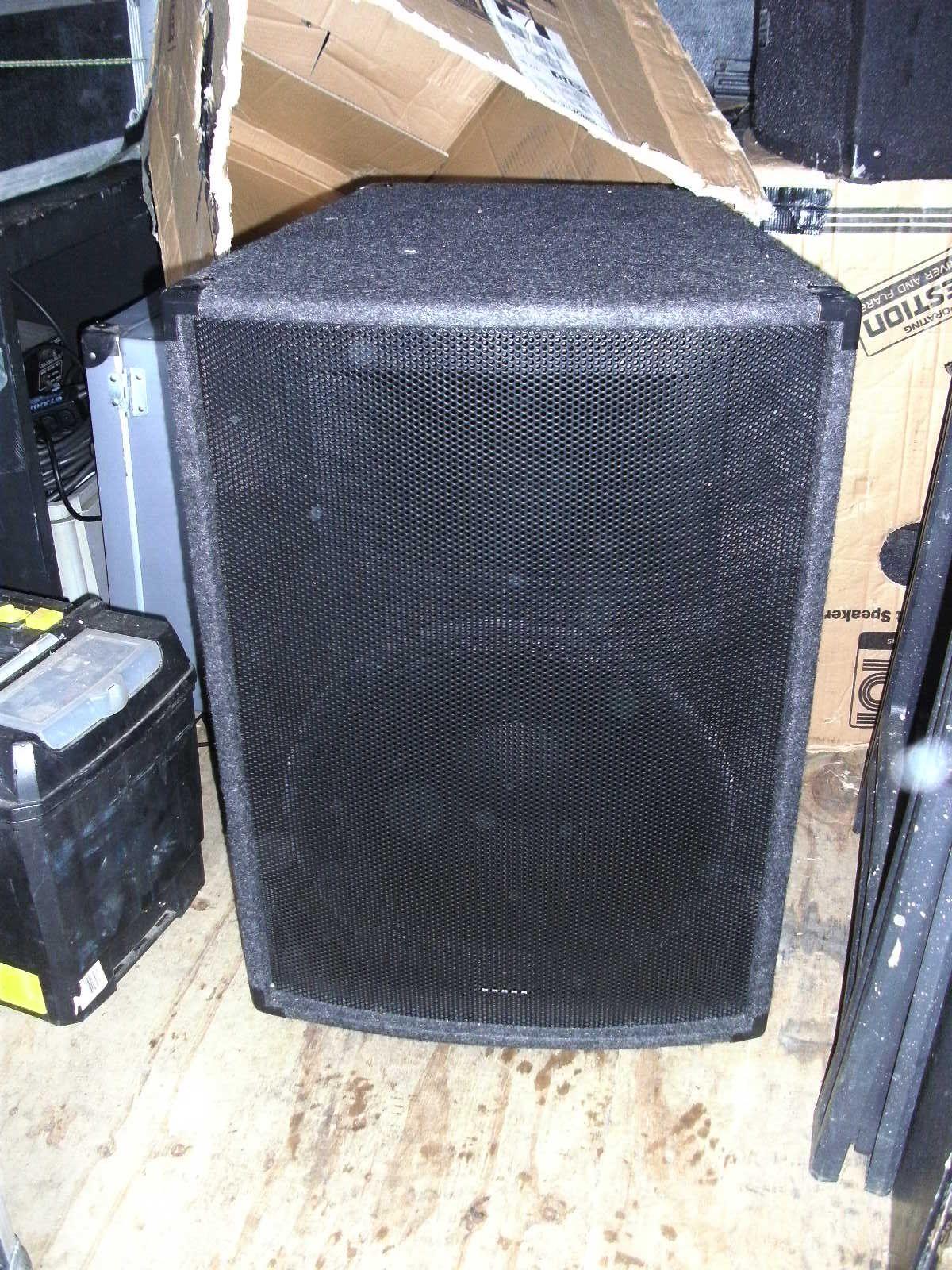 NJD Bass Bin x 2 (Always kept in their cardboard cases to keep them undamaged in transit