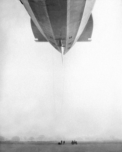 December 161929:The R.100, the great Yorkshire England built airship, sister of the R.101, was launched from her shed at Howden and made her maiden voyage to Cardington. The 140 miles were covered in two hours. Photo: Planet News Archive/Getty
