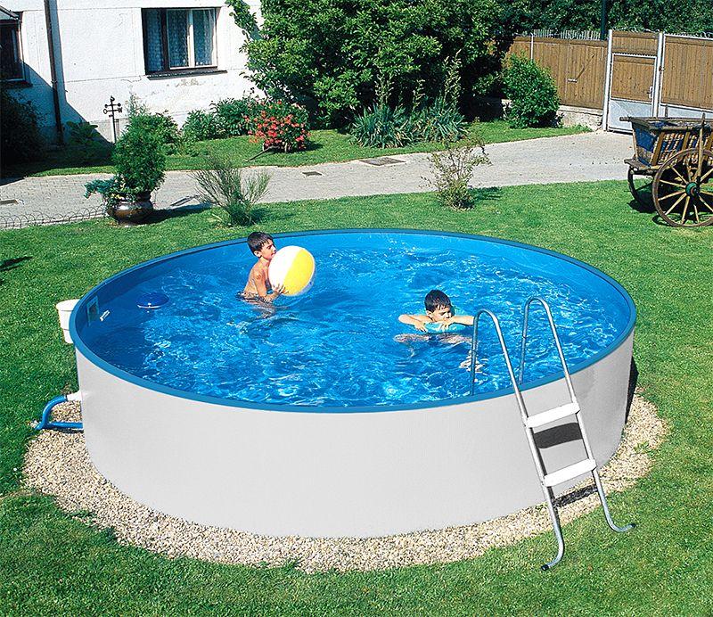 Beeindruckend Schwimmbäder Für Den Garten Schwimmbad01: Mit Unseren Günstigen Stahlwand-Kinderpools Können Sie