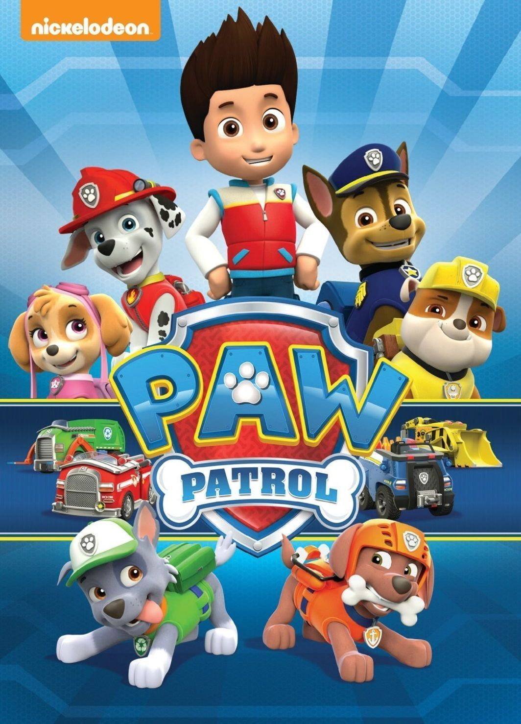 """Everest Paw Patrol Age Personalized Iron On Transfer 5x5/"""" LIGHT Colored Fabrics"""