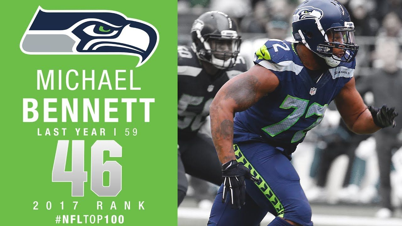 #46: Michael Bennett (DE, Seahawks) | Top 100 Players of 2017
