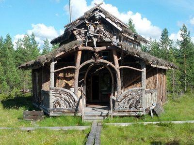 Kauhajoki, Nummijärvi - Kammi-kylä,  Turvekammi, joka sisältää mm. kaksi jatkuvalämmitteistä saunaa.