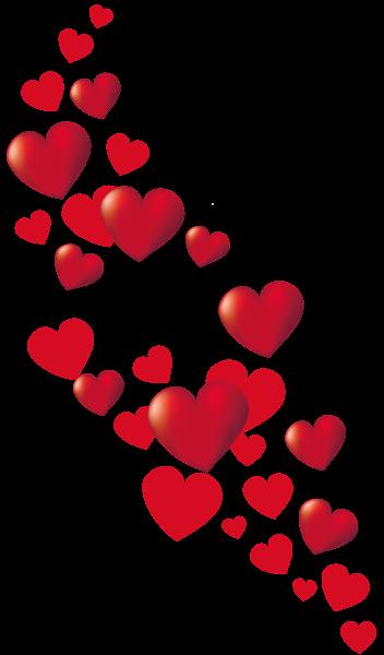 Corazones de San Valentín Decoración PNG Imágenes prediseñadas ...