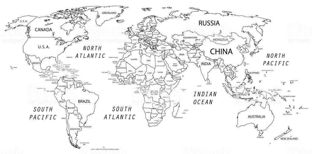 The World Map Was Traced And Simplified In Adobe Illustrator On 2 2020 Dunya Haritalari Sanat Adobe Illustrator