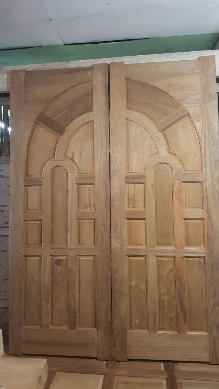 Gl Double Door Teak