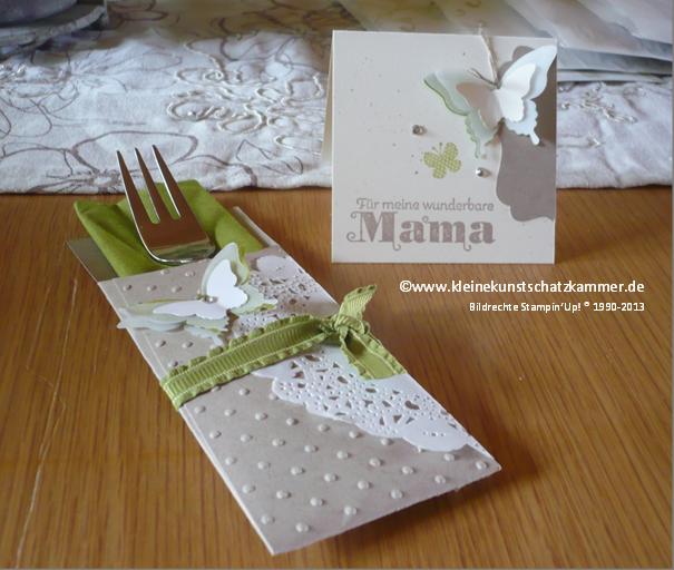Bijzondere tafeldecoratie! #stampinup #vlinder #ButterflyBasics #decoratie #DIY #stempelen #knutselen #ButterfliesThinlits +tafel