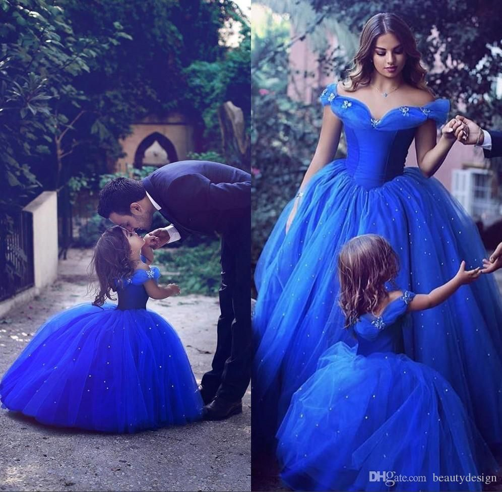 Wedding Dresses 2018 Couture Ball Gowns Elegant Royal: Give Your Little Girl The 2017 Royal Blue Toddler Flower