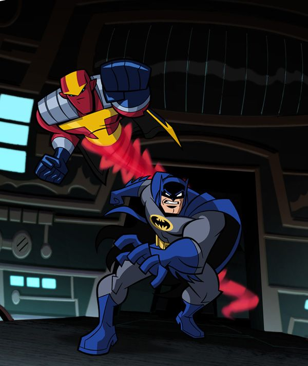 Batman Red Tornado With Images Brave And The Bold Batman Brave
