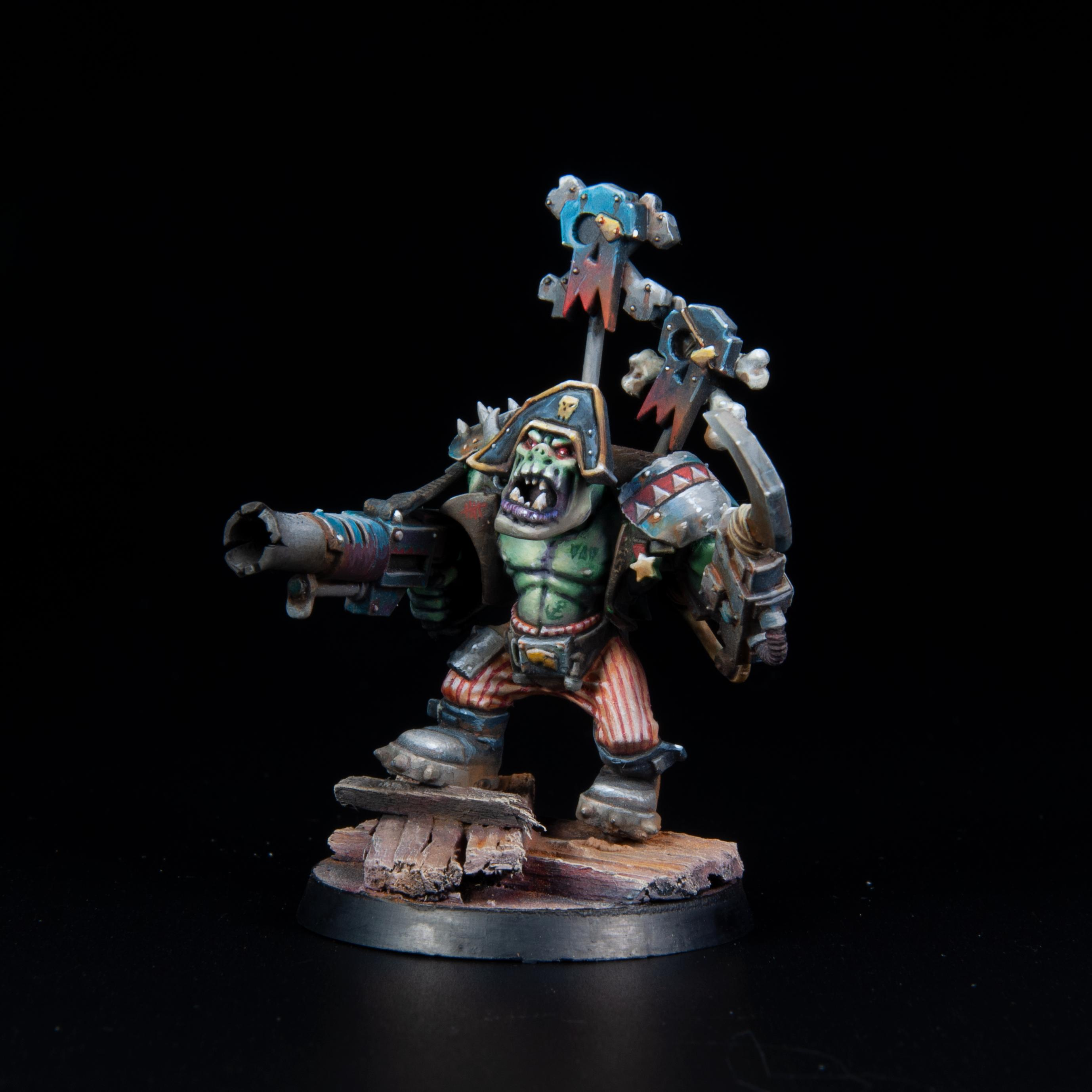 Finished Freebooter Ork 2018