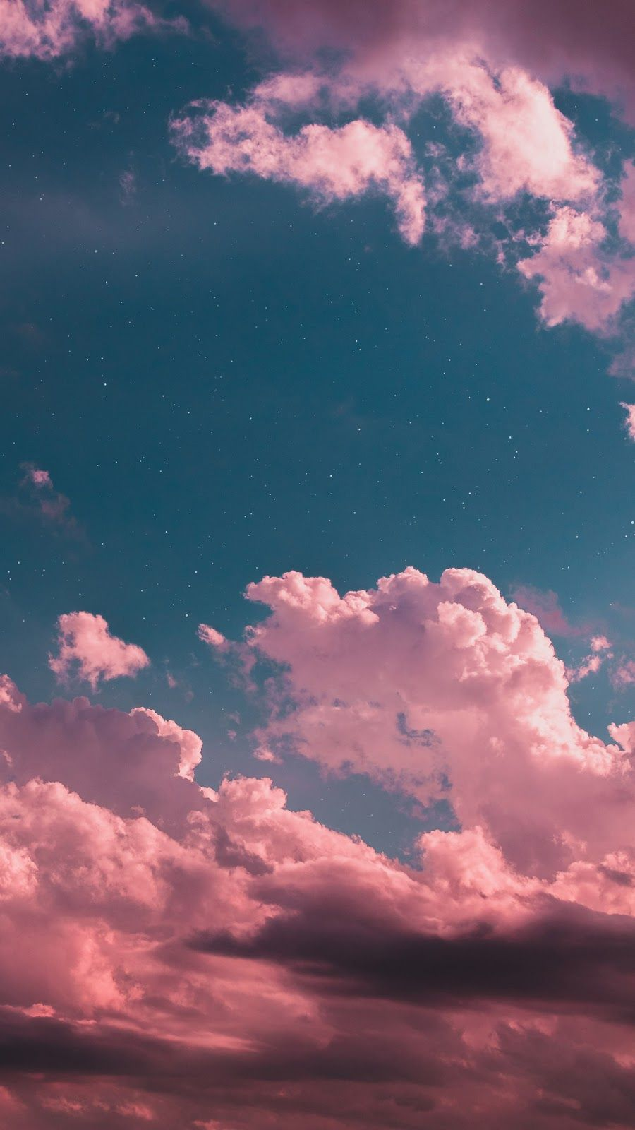 Night Sky Wallpaper Phone With Images Night Sky Wallpaper Phone Wallpapers Tumblr Pink Clouds Wallpaper