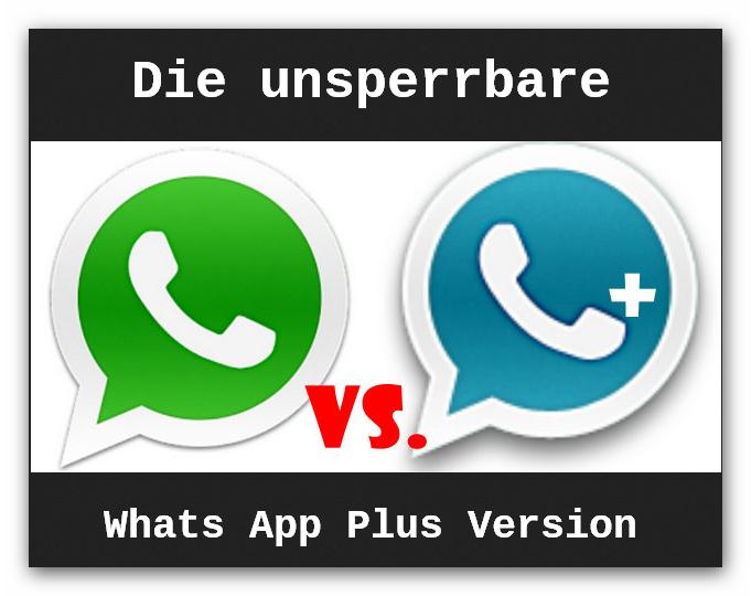 whatsapp plus gesperrt