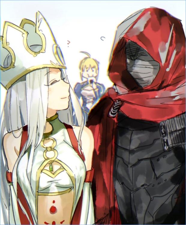 Saber / Irisviel Von Einzbern / Kiritsugu Emiya【Fate/Grand