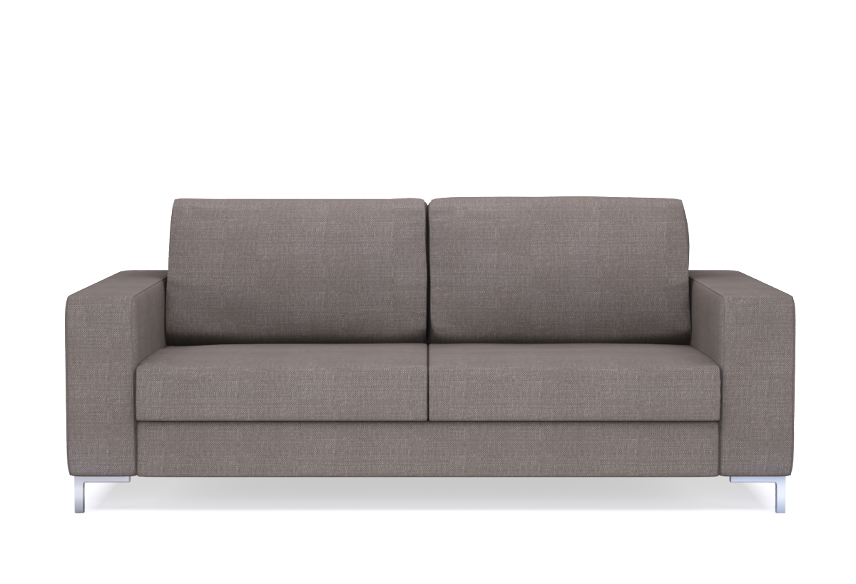 2-Sitzer Schlafsofa Nansen   Designer-Schlafcouch 140 x 200 cm ...