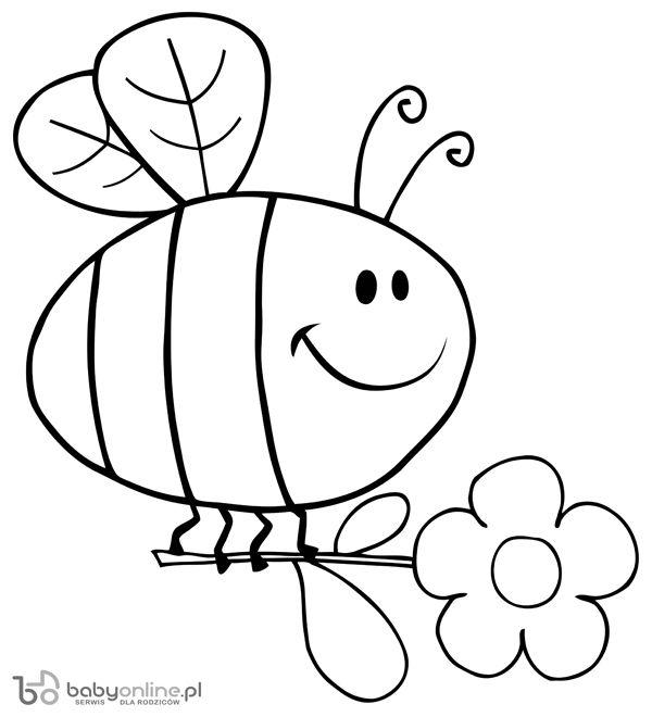 Pszczolka Kolorowanka Do Druku Kolorowanka Kolorowanki