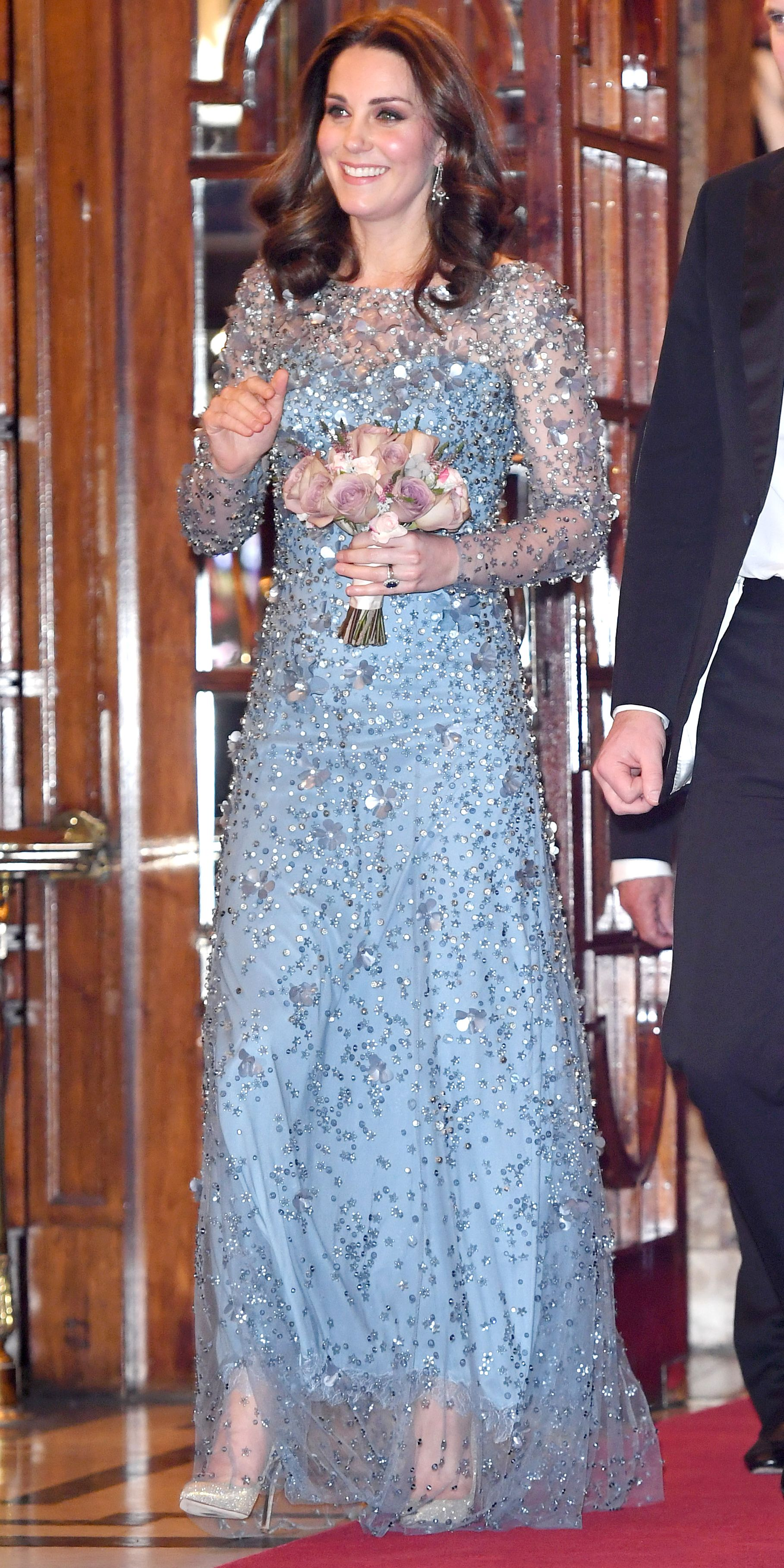 Look of the Day | Kate middleton, Jenny packham and Cambridge