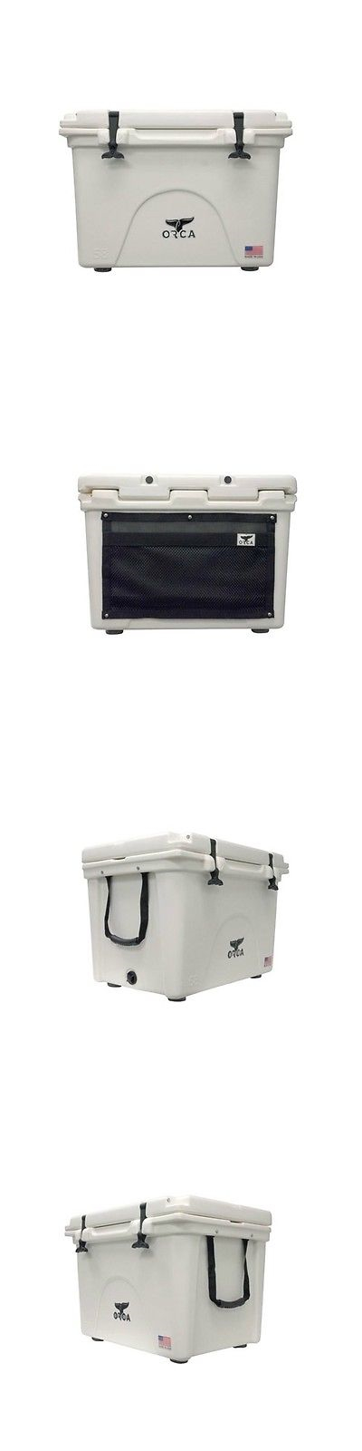 Camping Ice Boxes And Coolers 181382 Orca Coolers Orcw058 Insulated 58 Qt Quart White Ice Chest Cooler Buy It Now Only Ice Chest Cooler Orca Cooler Ice Chest