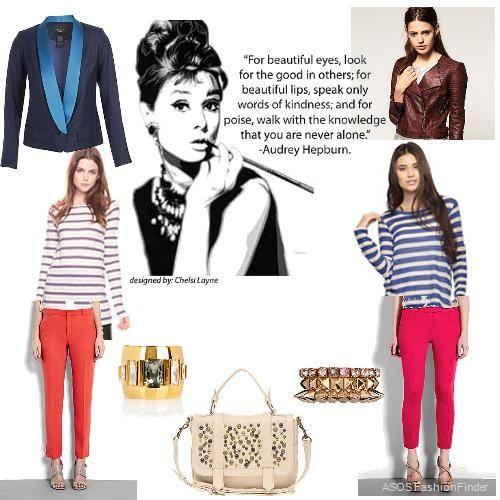 pix for gt audrey hepburn casual fashion style hepburn
