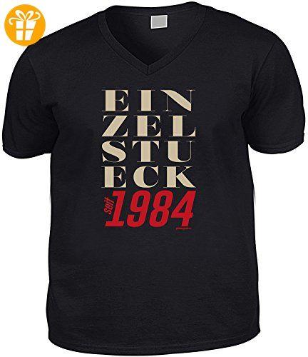 Cooles V-Neck - T-Shirt als Geschenk zum 32. Geburtstag - Super Funshirt - Goodman Design® Gr: XXL Farbe: schwarz (*Partner-Link)