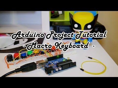 Arduino Project Tutorial: Macro Keyboard - YouTube | Ring keyboard