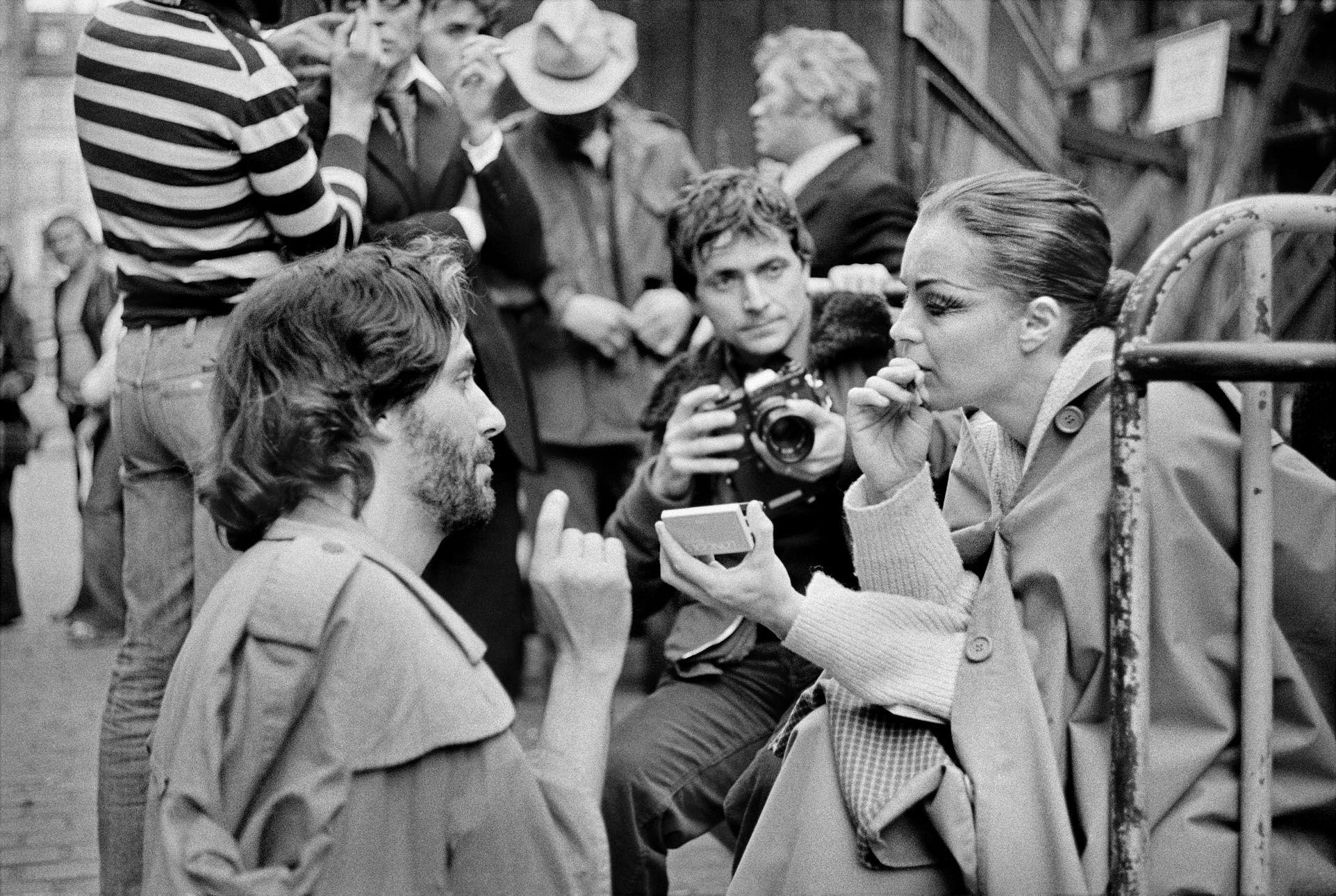 Photos quand Zulawski faisait tourner Romy Schneider