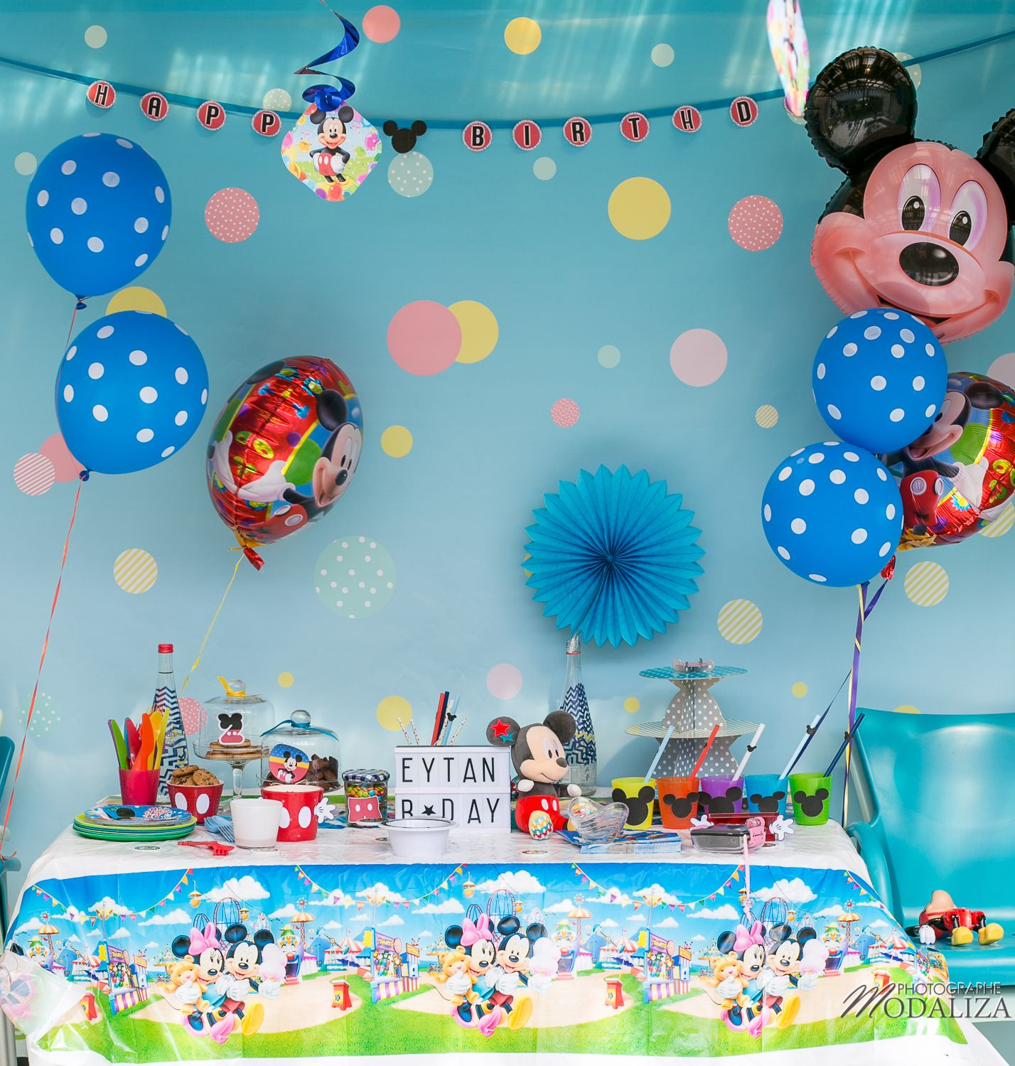 decoration anniversaire mickey baby. Black Bedroom Furniture Sets. Home Design Ideas