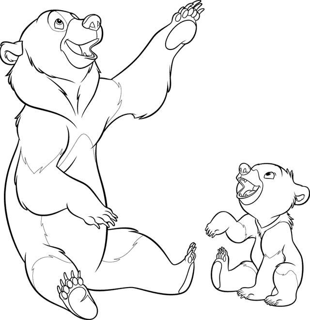Brother Bear Coloring Pages Best Coloring Pages For Kids Bear Coloring Pages Brother Bear Art Brother Bear Tattoo