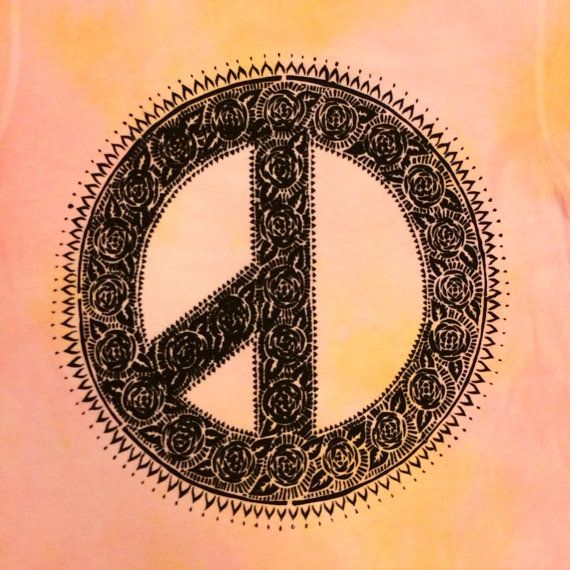 gd g dragon tie dye k pop fair trade t shirt screen printed pink peace sign bigbang diy. Black Bedroom Furniture Sets. Home Design Ideas