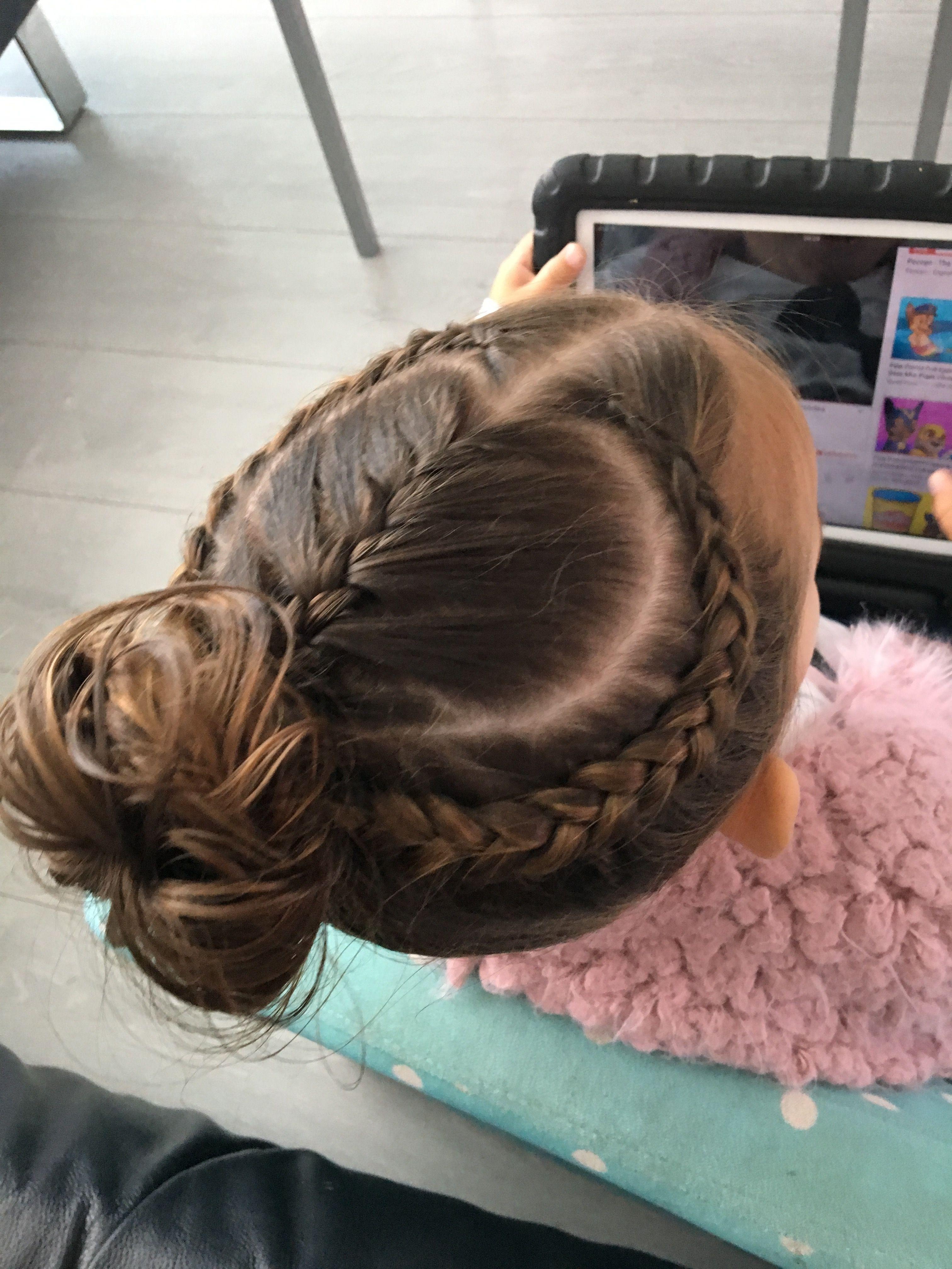 Peinados recogidos para gimnasia