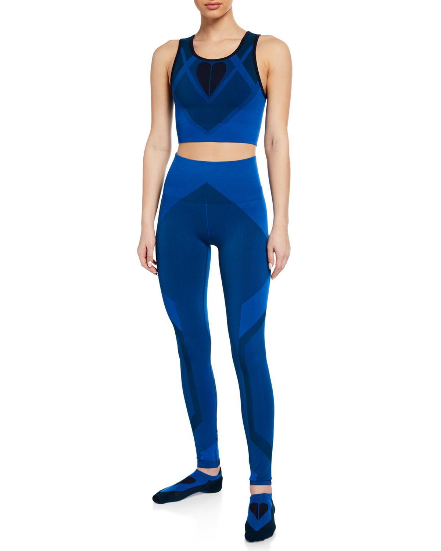 LNDR Seamless Sports Bra & Leggings Gift Set with Matching