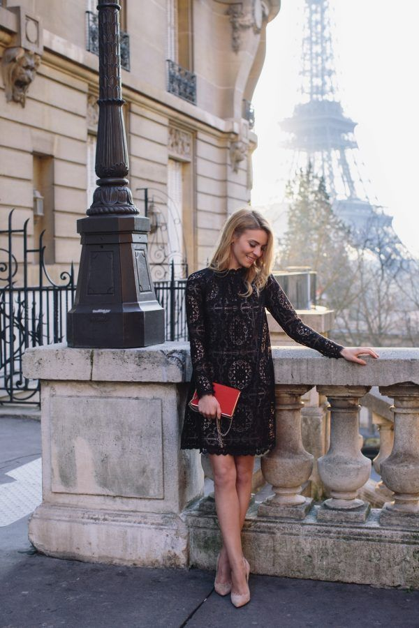 30 Cute Black Dress Outfits How To Wear A Black Dress Style My