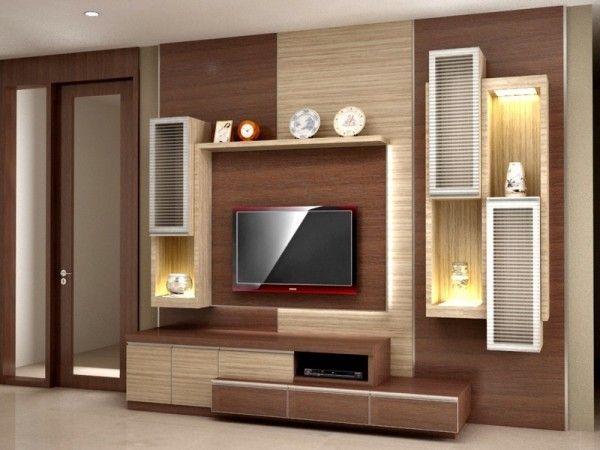 Contoh Rak Tv Modern Dan Cantik Rumah Desain Interior