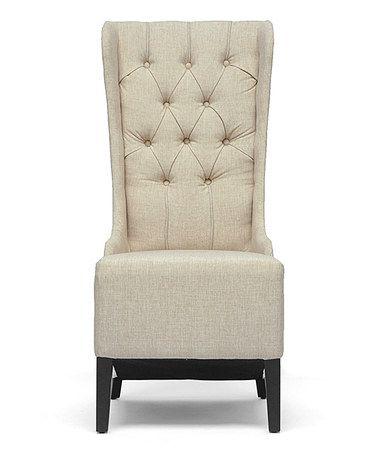 Best Beige Modern Vincent Armchair By Baxton Studio Modern 400 x 300