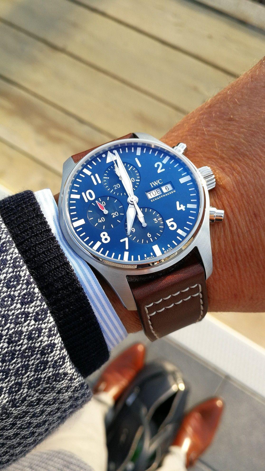 Iwc pilot chronograph petit prince pilotfashion iwc