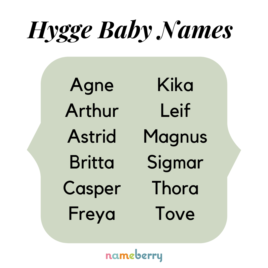 Baby names that embody the #hygge lifestyle | Baby Name