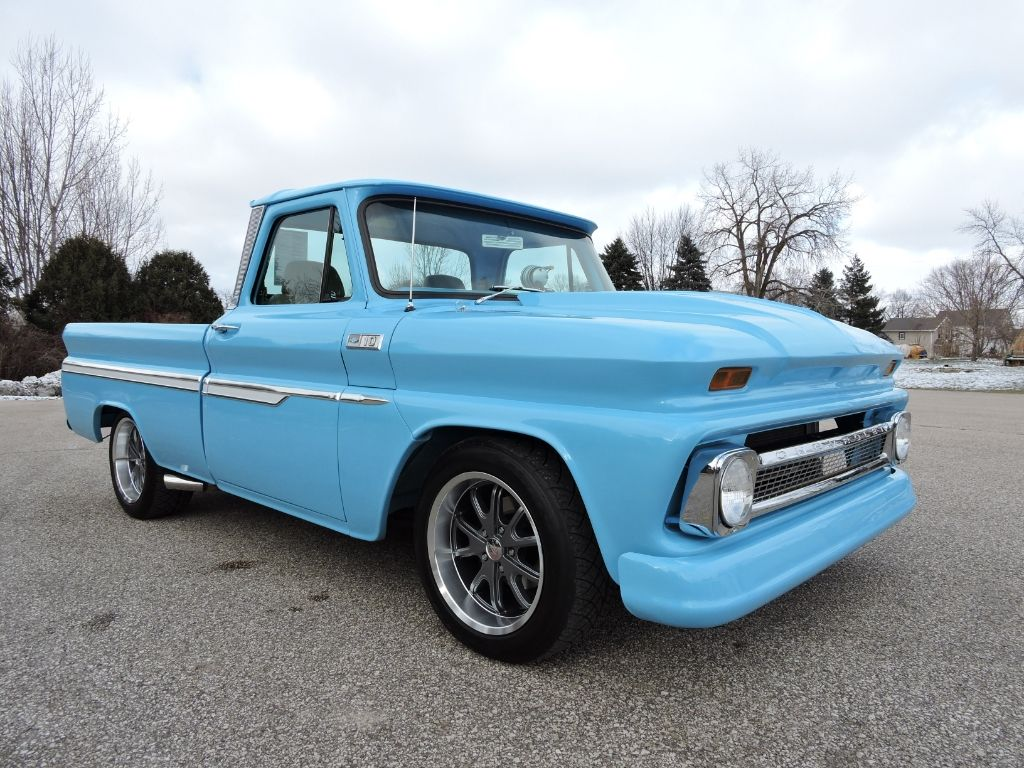 Used 1965 Chevrolet C10 for Sale in Greene IA 50636 Coyote Classics ...