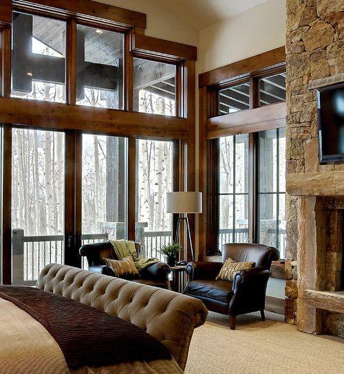 Beautiful Bedroom Sitting Areas: Jaffa Group Design Build, Park City, UT. LOVELY SITTING