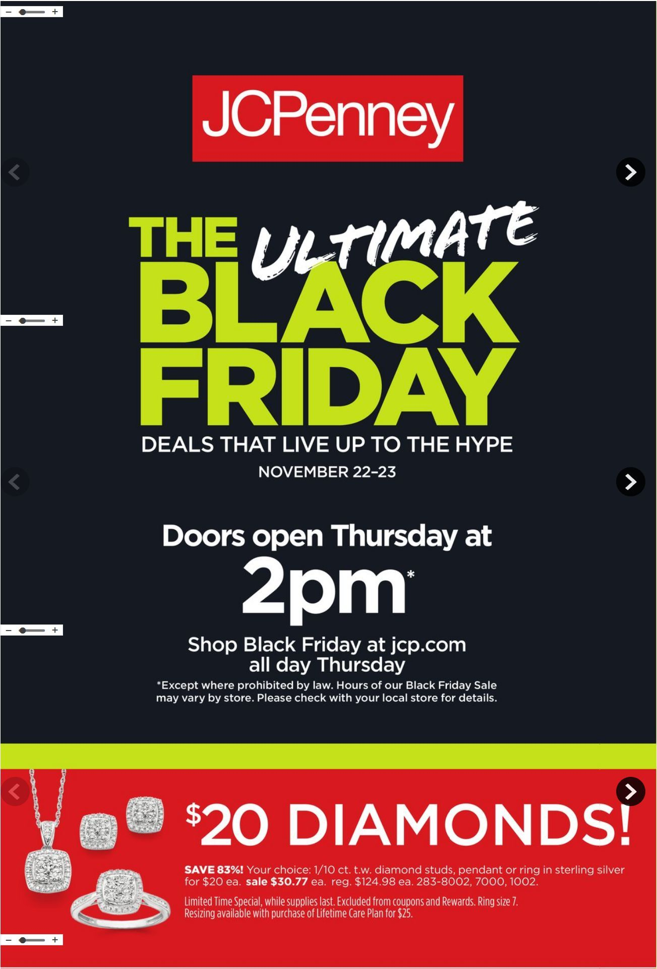 29b3fdf148753 Browse JCPenney Weekly Ad Flyer was published valid November 18 – December  4