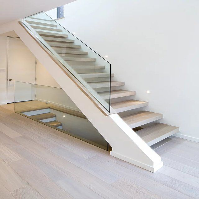 Outdoor Floating Stairs Florida Project: Floating Stairs By Royal Drywall. #toronto #drywall