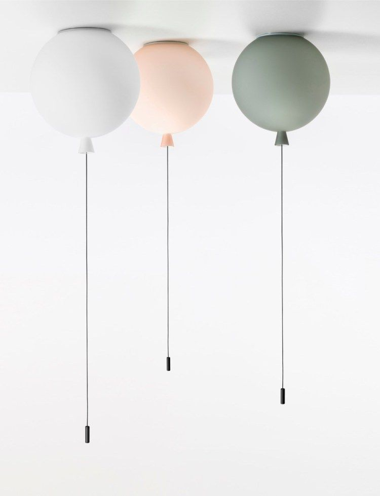Memory lamps by Brokis, le lampade a palloncino