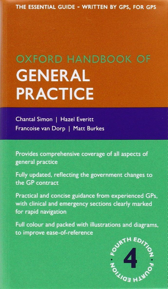 FREE MEDICAL BOOKS: Oxford Handbook of General Practice Pdf Book, Nurse  Practitioner, Videos