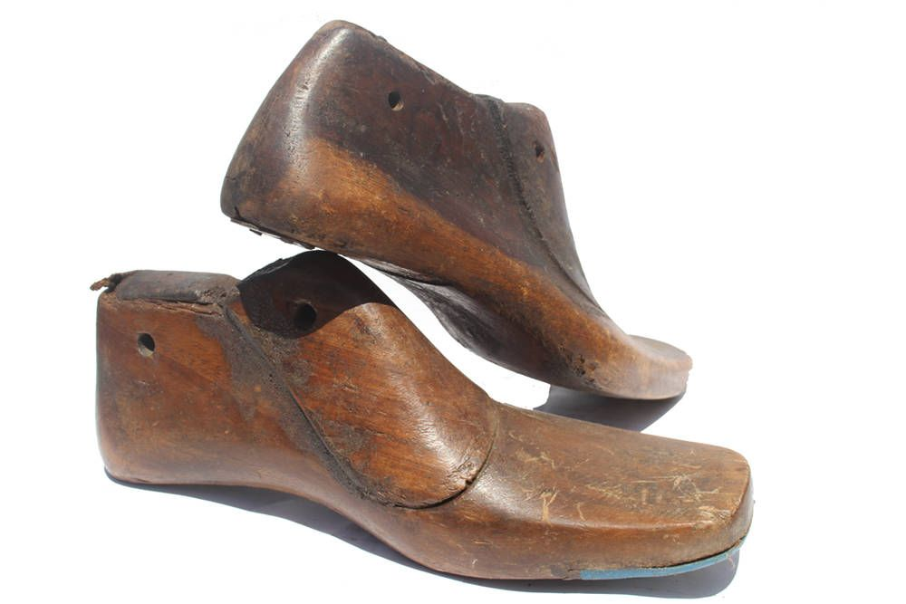 Men Wooden shoes form /size 9/Maple wooden shoe lasts wooden ...