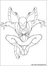 Ultimate Spider Man Coloring Pages On Coloring Book Info Spider