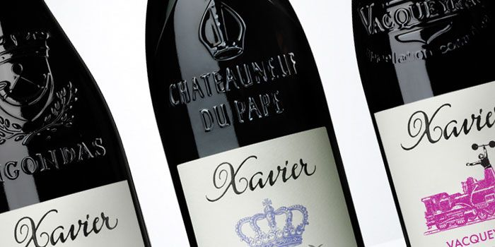 """""""Xavier Vignon is a world-wide class consultant oenologist who works for many of the leading estates of the southern Rhone. He is known for creating wines of of a truly unique character."""