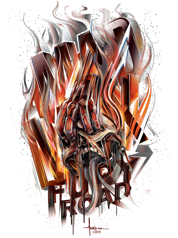 Mad Max Fury Road Vector Tribute On Behance Mad Max Fury Road Mad Max Fury Mad Max