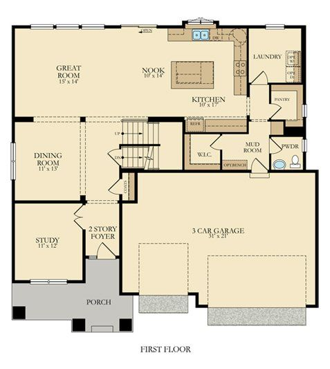 Summit New Home Plan In Parkside West New House Plans Lennar House Plans