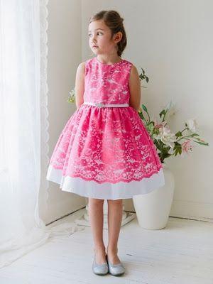 vestidos de niña para boda color rojo | zoelinda | Pinterest ...