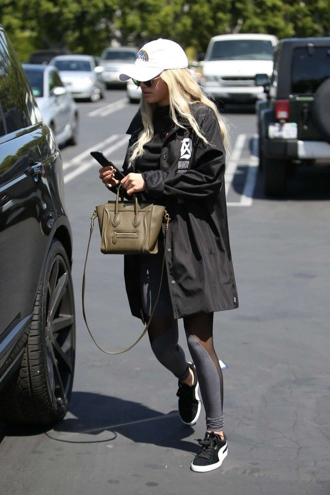 Sofia Richie at Fred Segal in West Hollywood