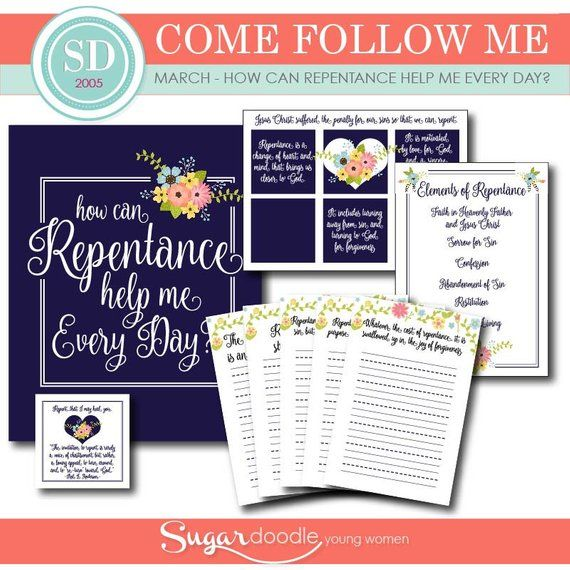 LDS YW Come Follow Me - March - What is Repentance